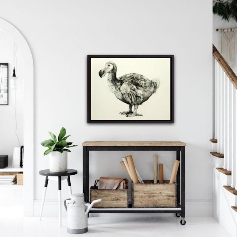 Rowland's Dodo (Version II) BY TAMMY MACKAY, Animal Art, Contemporary Prints - Beige Animal Print by Tammy Mackay