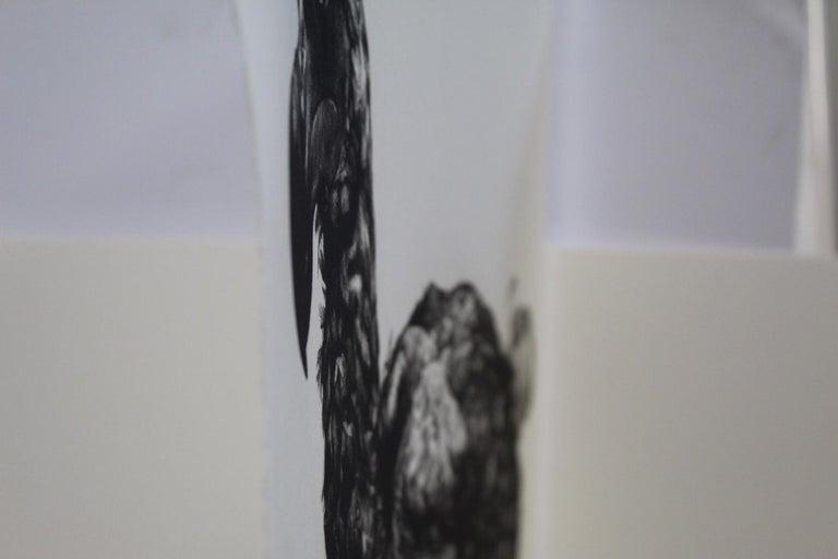 Tammy Mackay, Gone, Dodo Art, Contemporary Print, Affordable Art, Monochrome Art - Gray Black and White Photograph by Tammy Mackay