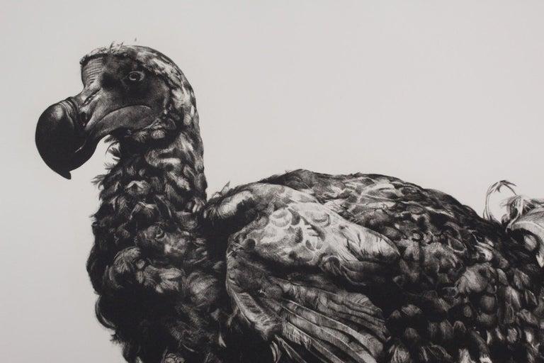 Tammy Mackay, Gone, Dodo Art, Contemporary Print, Affordable Art, Monochrome Art For Sale 3