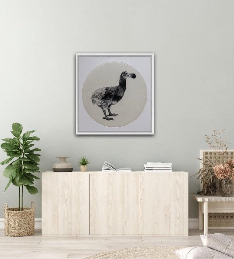 The Dutch Dodo, Tammy Mackay, Limited Edition Animal Print, Contemporary Art - Photorealist Painting by Tammy Mackay
