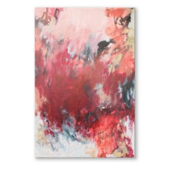 'Bougainville' Original Wrapped Canvas Abstract Painting by Tammy Staab