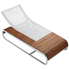 Tandem Sunlounger by Ego Paris