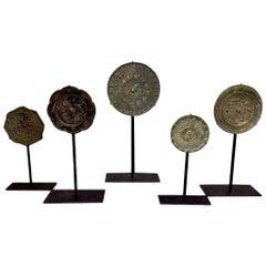 Tang Dynasty Bronze Mirror Set, China '618-907 AD'