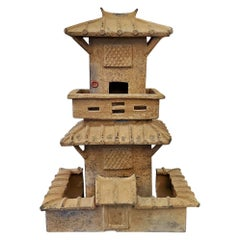 Tang Dynasty Style Ceramic House