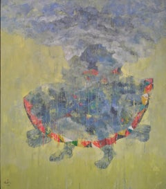 Cloud I - Modern painting by Tang Xuan Doan, Vietnam