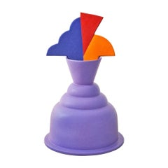 Tanganyka Flower Vase in Ceramic by Marco Zanini for Memphis Milano Collection