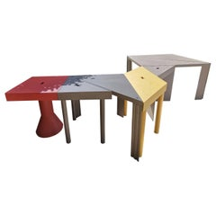 Tangram Set Table by M.Morozzi from Cassina, Italy, 1980s