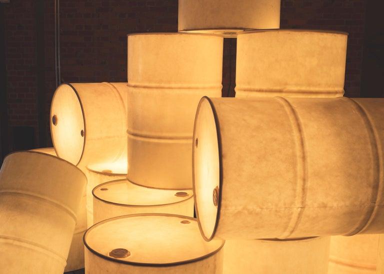 Modern Tank Light Sculpture by Atelier Haute Cuisine For Sale