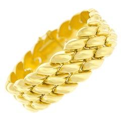 Tannler Gold Bracelet 18k c1960s Zurich Switzerland