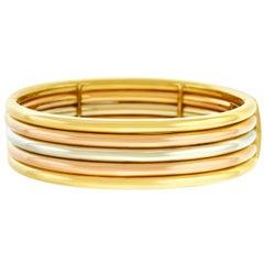 Tannler Tri-Tone Gold Bracelet