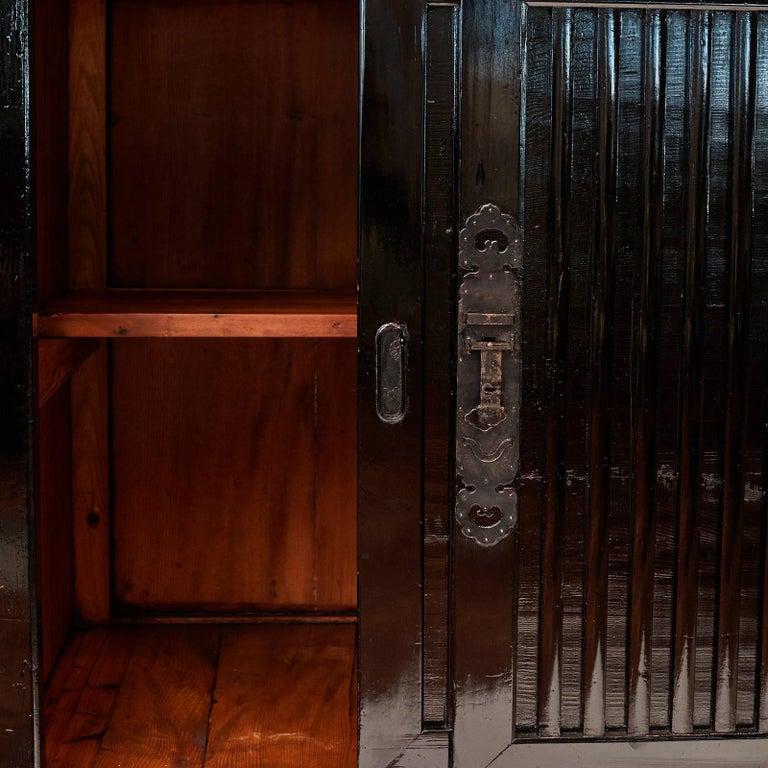 Pine Tansu Cabinet, Meiji Era, Japan For Sale