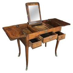Tantalizing 18th Century Louis XVI Dressing Table Vanity