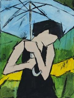 The Summer Rain, Painting, Oil on Canvas