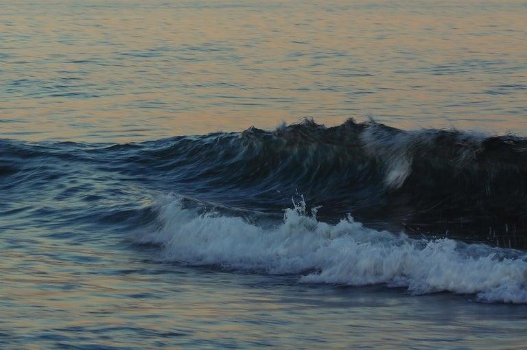 Tanya Malott Color Photograph - Georgica Beach, Golden Wave, East Hampton, NY, 2015
