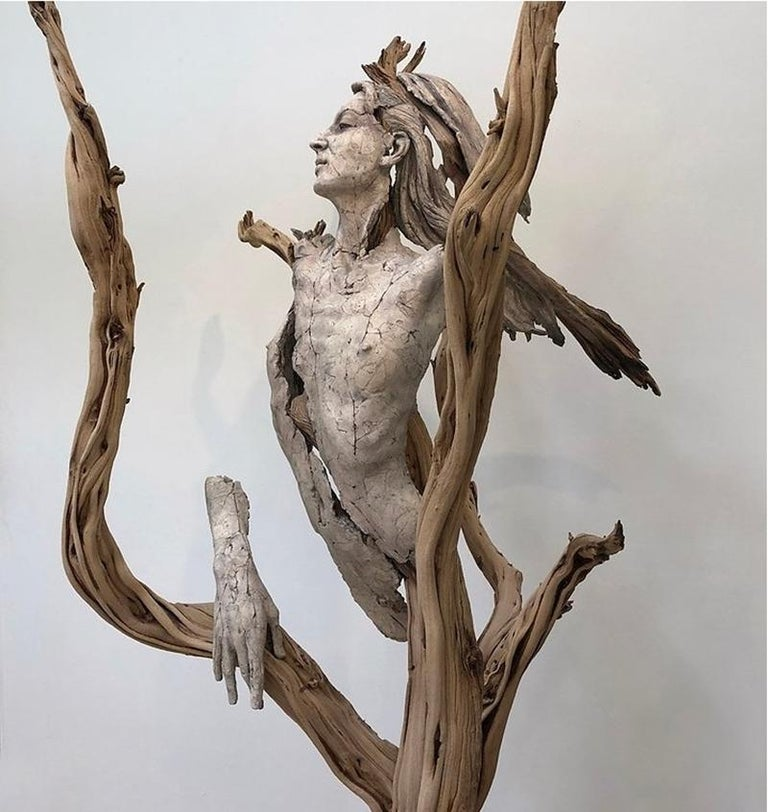 Expressionist Tanya Ragir, Church of Trees-Sculpture Edition 1/1 For Sale
