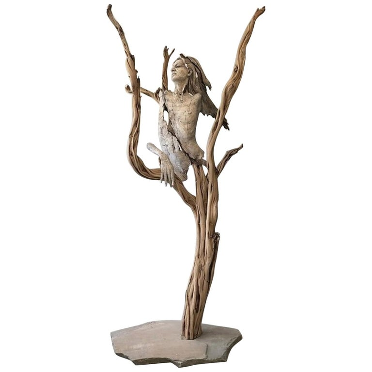 Tanya Ragir, Church of Trees-Sculpture Edition 1/1 For Sale