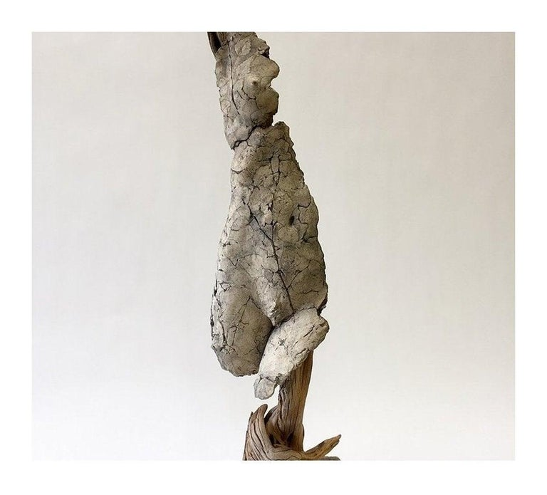 Expressionist Tanya Ragir One of a Kind Sculpture, LEAN UP, 2018 For Sale