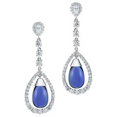 Tanzanite And Diamond Earring By RayazTakat