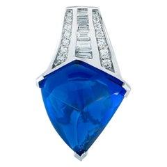 Tanzanite and Diamond Pendant by Takat