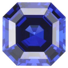 Tanzanite Ring Gem 8.23 Carat Asscher Cut