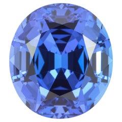 Tanzanite Ring Gem 15.05 Carat Oval Loose Gemstone