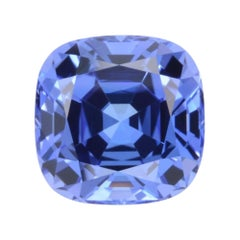 Tanzanite Ring Gem 5.88 Carat Cushion Loose Unset Gemstone