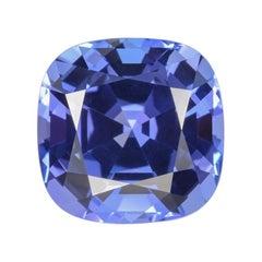 Tanzanite Ring Gem 8.07 Carat Cushion Loose Gemstone