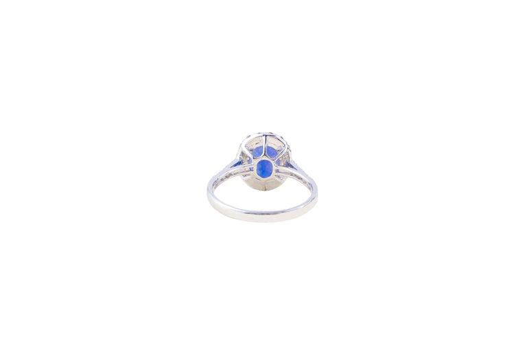 Women's Tanzanite Ring with Diamonds For Sale