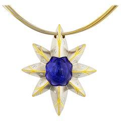 Tanzanite Star Pendant by Zoltan David