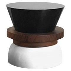 TAO 1 Stool/Table 'Minimalist, Contemporary, Wood Utility Sculpture'