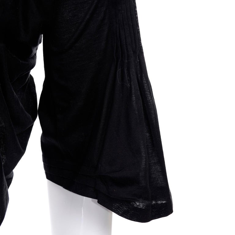Tao Comme des Garcons New With Original Tags Black Cotton Avant Garde Top Medium For Sale 7