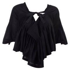 Tao Comme des Garcons New With Original Tags Black Cotton Avant Garde Top Medium