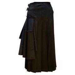 TAO Comme Des Garçons Wool Wrap Skirt