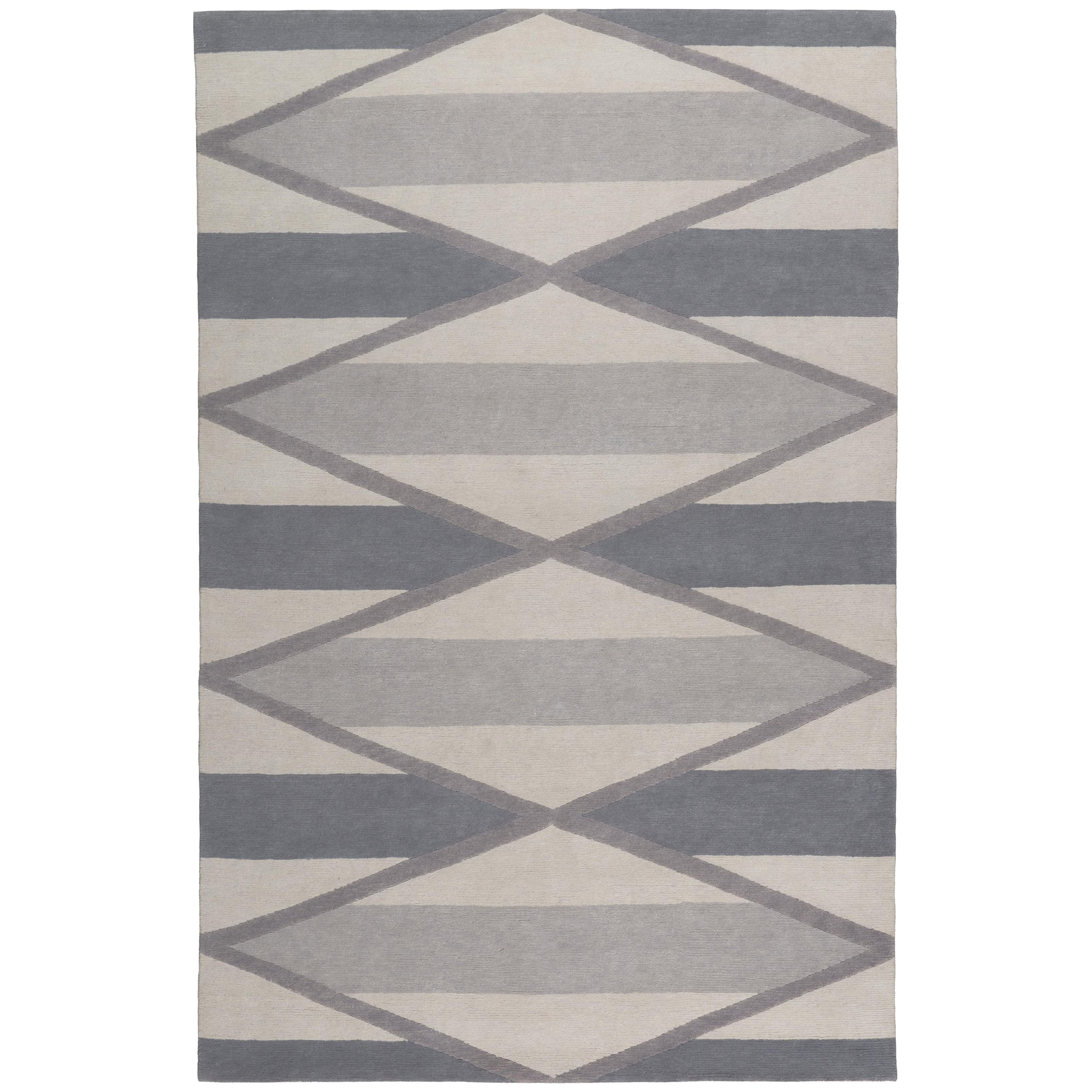 Taos Hand-Knotted 10x8 Rug in Wool by Katrin Cargill