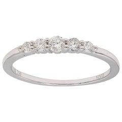 Tapered 5-Stone Diamond Ring