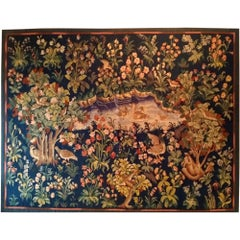 200 - Tapestry Aubusson 'A Thousand Flowers'