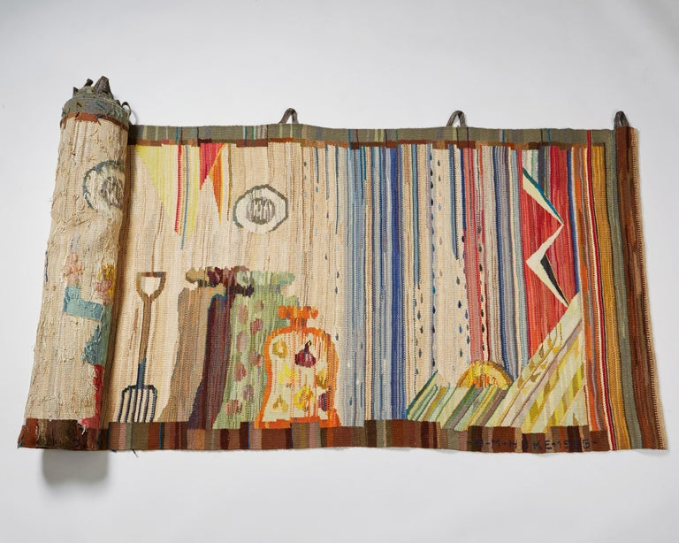 European Tapestry by Anna-Maria Hoke, Sweden, 1966