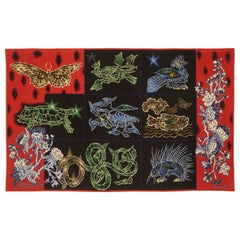 """Tapestry by Jean Lurçat """"Coral Bestiary"""" Jean Lurçat, Coral Bestiary"""