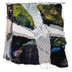 "Tapestry ""Forest Fragments"" by Elsa Agélii, 1988, Sweden"