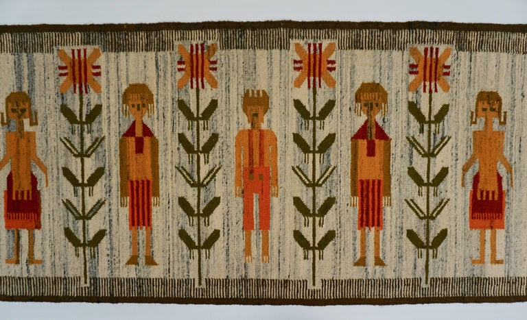 Polish Tapestry in Wool For Sale