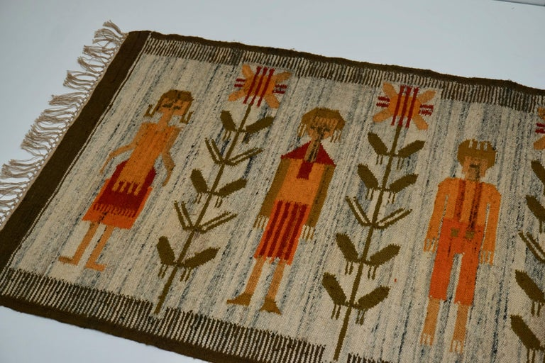 Tapestry in Wool For Sale 1