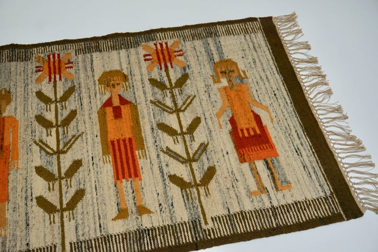 Tapestry in Wool For Sale 2