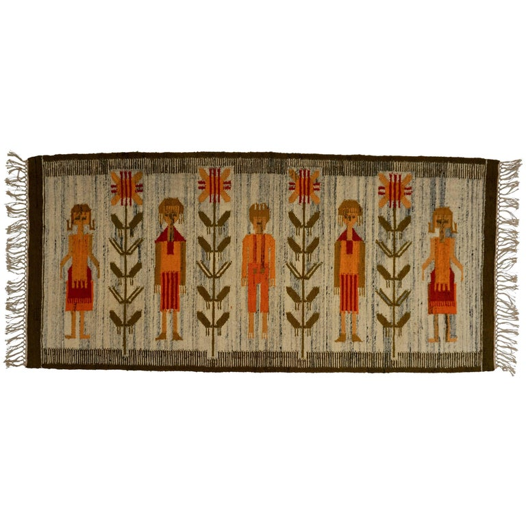 Tapestry in Wool For Sale