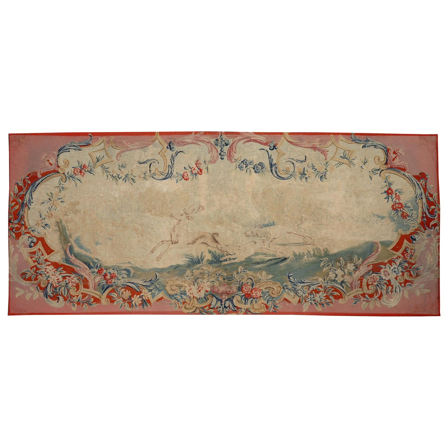 Tapestry Panel, Late 18th Century, French Louis XVI, Aubusson