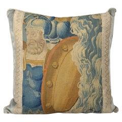 Tapestry Pillow, Antique Trim