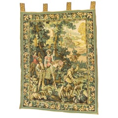Tapestry Wall Hanging Decor Hunting Scene