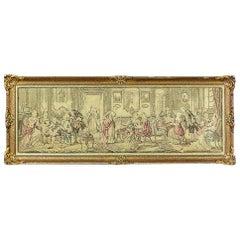 Tapestry with a Genre Scene, circa 1920