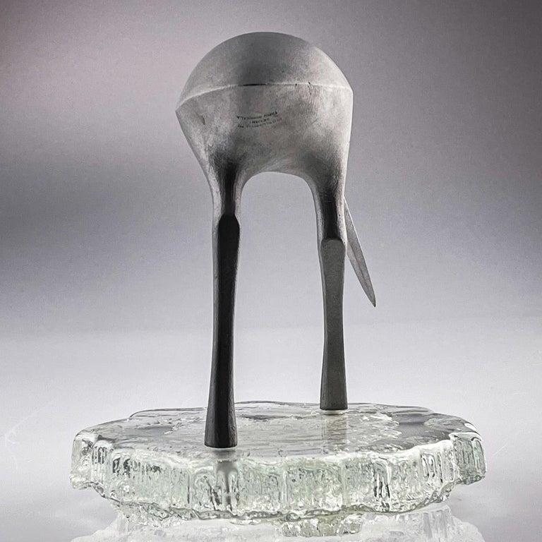 Tapio Wirkkala, Birdsculpture on Glass Stand, Model TW 513, Kultakeskus ca. 1975 3