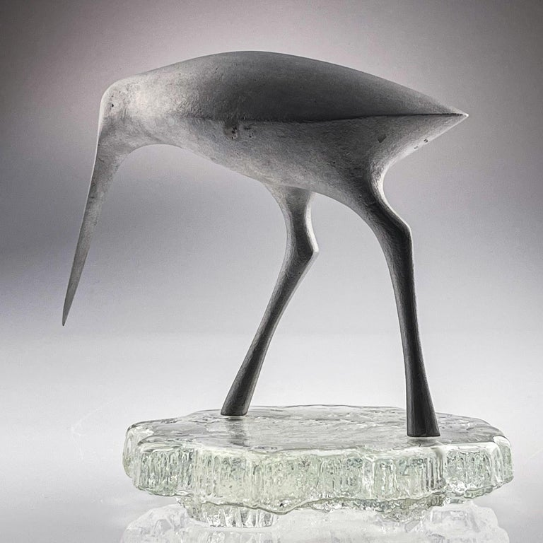 Tapio Wirkkala, Birdsculpture on Glass Stand, Model TW 513, Kultakeskus ca. 1975 2