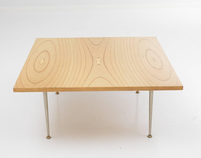 Scandinavian Modern Tapio Wirkkala Coffee Table for Asko For Sale